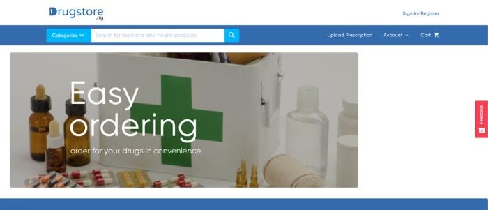 Drugstore.ng Screenshot